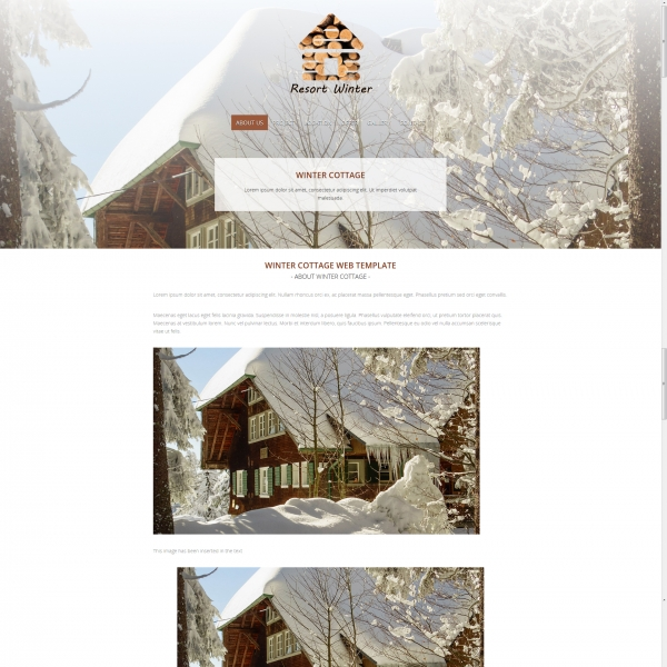 Resort Web Template
