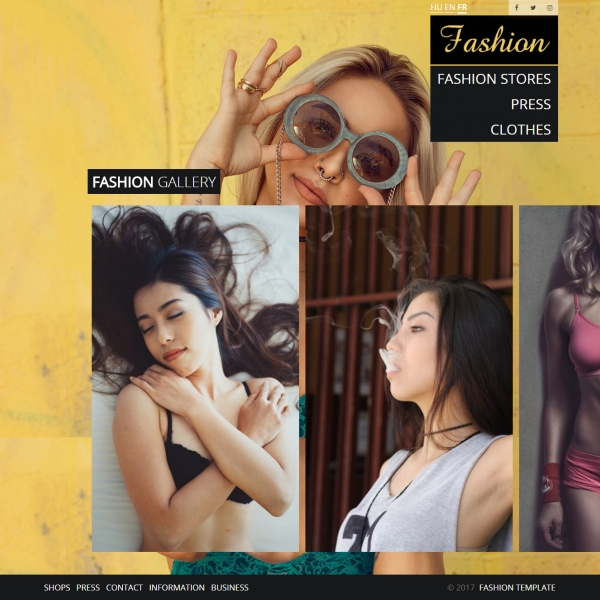 Fashion Shops Template