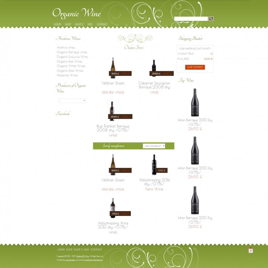 Premium Wine Shop