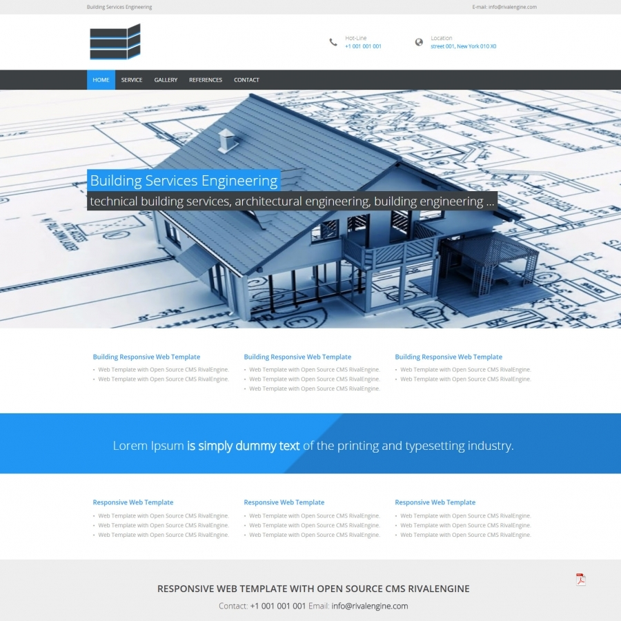 Building Services Web