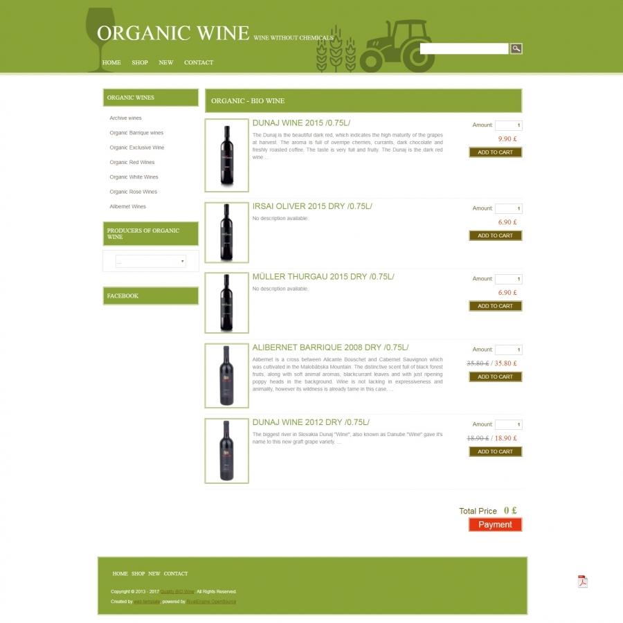 Easy Wine Eshop