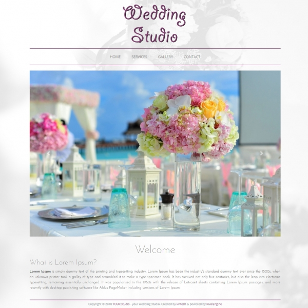 Wedding Web Template